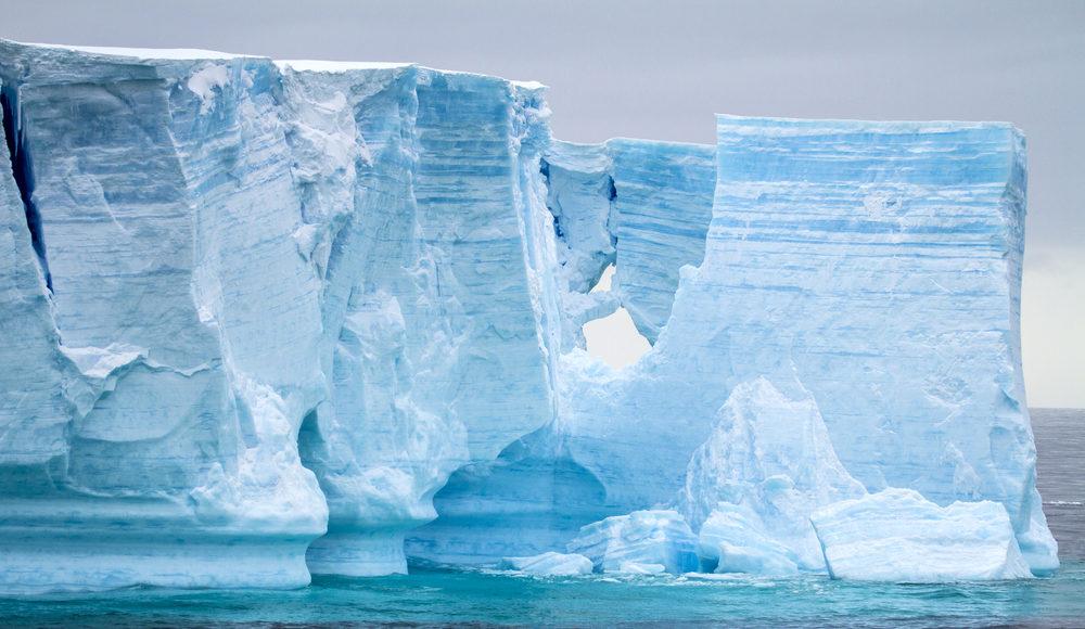 Antarctic Ice Walls are melting